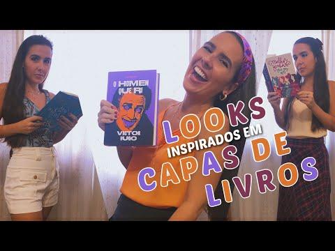 LOOKS INSPIRADOS EM CAPAS DE LIVROS (MARTIN CLARET)| Ana Carolina Wagner