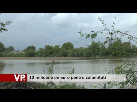 13 milioane de euro pentru calamități
