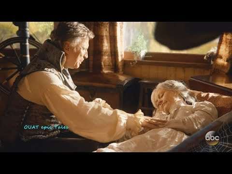 Once Upon A Time 7x04 Belle Dies - Belle & Rumple Story Season 7 Episode 4