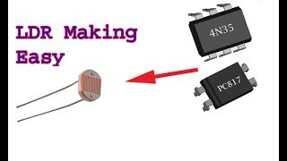how-to-make-a-ldr-using-optocoupler-simple-easy-diy-ldr
