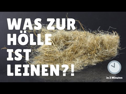 Was zur Hölle ist LEINEN?! In 3 Minuten erklärt! | Fair Fashion & Lifestyle | rethinknation