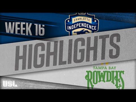 Шарлотт Индепенденс - Tampa Bay 2:2. Видеообзор матча 28.06.2018. Видео голов и опасных моментов игры