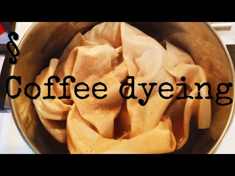 FLOSSTUBE | COFFEE DYEING FABRIC FOR THE SALEM 325 SAL
