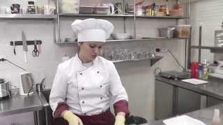 """Тайский салат с курицей от ресторана """"Бавария"""", г. Владикавказ"""