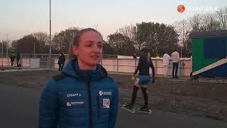 Moniek Klijnstra ondanks foutjes naar de overwinning op 200 meter