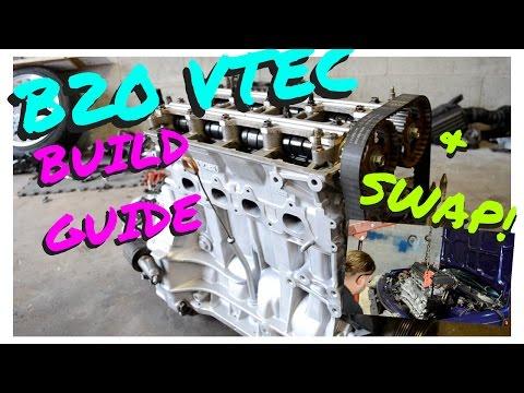 B20 VTEC BUILD GUIDE AND SWAP INTO INTEGRA !   HSG EP. 5-5