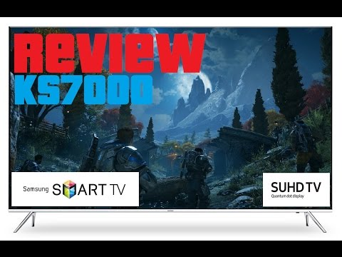 Samsung KS7000/8000 Review For Console and PC Gaming 4K HDR TV