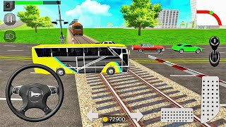 Euro Coach Bus Simulator 2020 : City Bus Driving Games-Android 게임 플레이