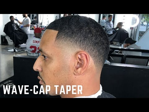 HAIRCUT TUTORIAL: WAVE-CAP TAPER/ HIGH TAPER FADE BY CHUKA THE BARBER