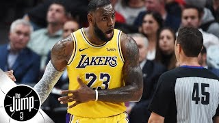 Are refs treating LeBron James, Lakers unfairly? | The Jump