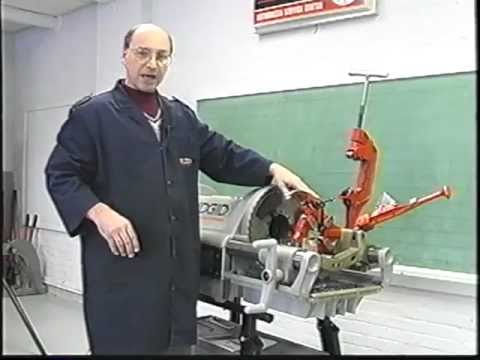 Machine à fileter 1224 (Présentation de la Machine à fileter)
