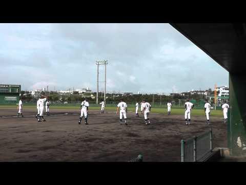東風平中学校野球部 2015年中体連 準々決勝 1