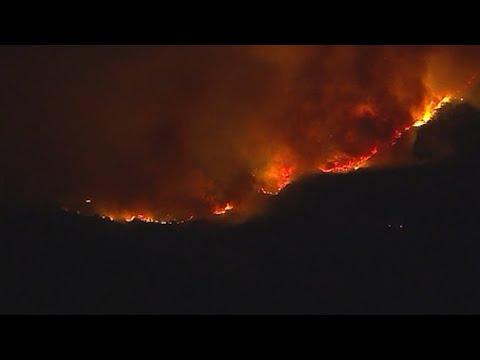 Firefighter Dies, Thousands Take on Calif. Blaze
