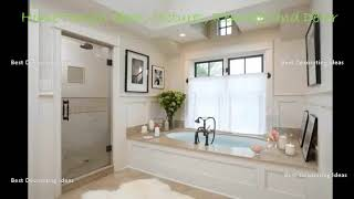 French Country Bathroom Design Ideas | Stylish Washroom & Showering Area Picture