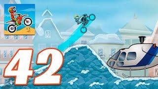 Moto X3M Bike Race Game COOL MATH WINTER - Gameplay Android & IOS Game - Moto X3m