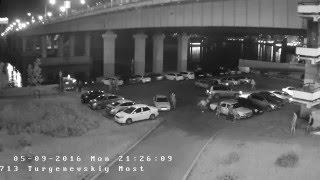ДТП Краснодар встречка под тургеневским мостом, искры, кони,жесть, смотреть до конца