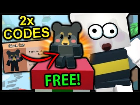 How To Get Free Cub Buddy 2x New Codes Roblox Bee Swarm