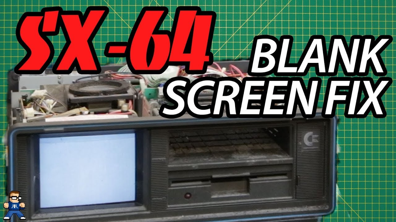 Commodore SX-64 Blank Screen Fix