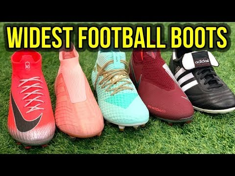 THE BEST FOOTBALL BOOTS FOR WIDE FEET FROM EVERY BRAND!