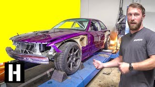 Scrapyard M3 LIVES! How Much Power Does the V8 Make??