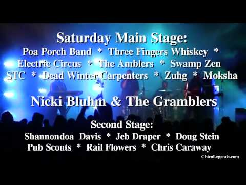 Chico Legends Music Festival  TV Commerical