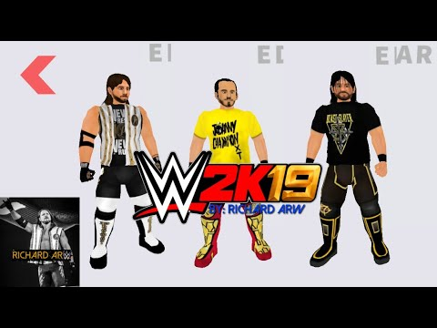 wr3d mod 2k19   how to download (no root)Rosters latest textures and