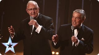 The Pensionalities croon to One Direction's History! | Semi-Final 4 | Britain's Got Talent 2017