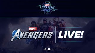 Behind-the-Scenes of Marvel's Avengers! | Marvel Let's Play LIVE!