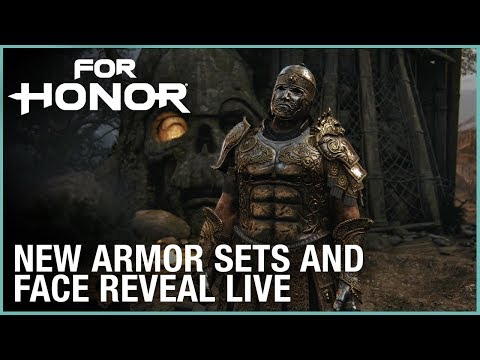 For Honor: Marching Fire New Armor Sets and Face Reveal LIVE | Ubisoft [NA]