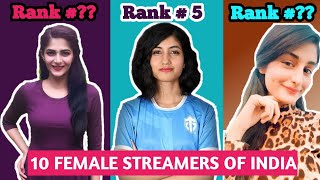 Top 10 Pubg Girls | Best Female Streamer In India 2020 | Pubg Mobile Player - 10
