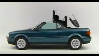 Audi Cabriolet   Typ8G Official Promotional Video