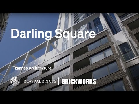 Built with Brickworks | Tzannes | Darling Square | Full cut