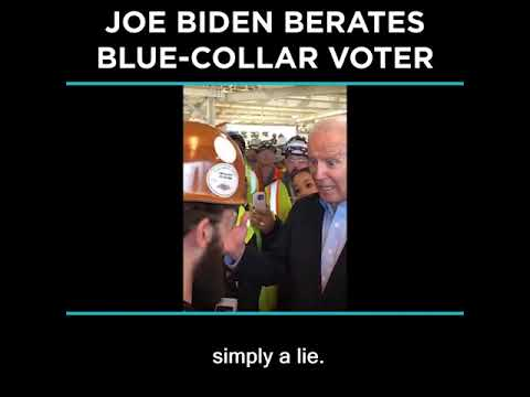 Joe Biden Berates Blue-Collar Voter