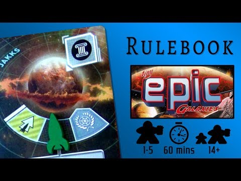 Tiny Epic Galaxies - The Rulebook