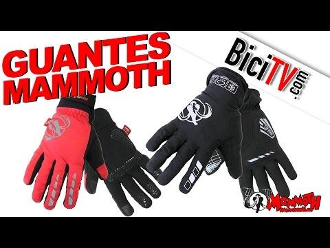 Guantes de invierno para bicicleta Mammoth