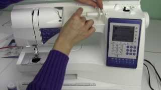 Husqvarna Viking Sapphire 930 04 Threading & Machine Set Up