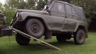 Flex Test -  UAZ vs. G-Class vs. H3