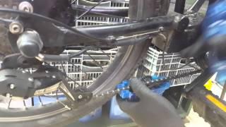 ניקוי האופניים