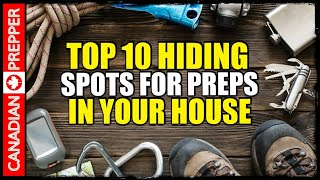 Best Places to Hide Prepping Supplies in Your House