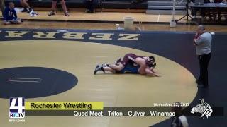 Rochester Wrestling Quad Meet vs Triton, Culver, Winamac