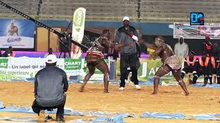 LUTTE : victoire de Ama Baldé  sur Papa Sow
