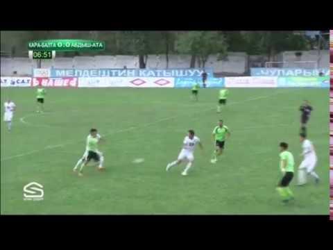 Топ-Лига-2017. Матч#37 Кара-Балта – Абдыш-Ата 0:1