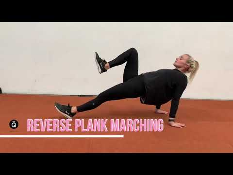 Reverse Plank March