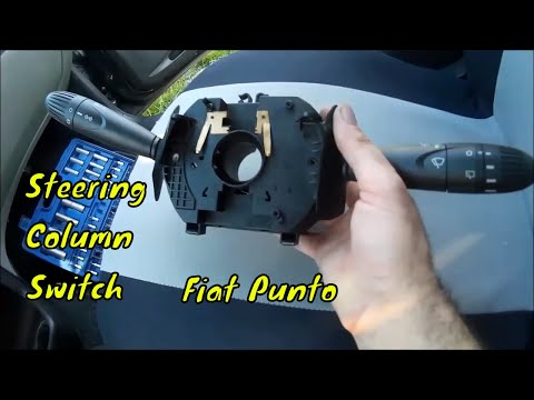 Fiat Punto 2 How To Replace Steering Column Switch