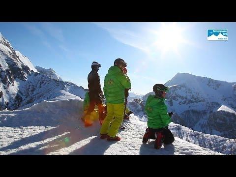Skifahren in Bayern: Skigebiet Jenner