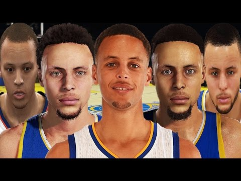 Stephen Curry From NBA 2K10 to NBA 2K17
