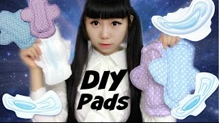 DIY reusable menstrual pads