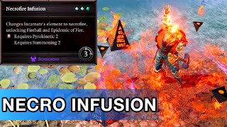 Necrofire Infusion - Divinity 2 [Crafted Skill]