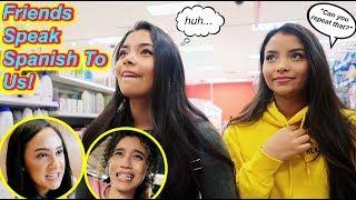 Friends Speak Spanish To Us For A Day! Feat. Franny Arrieta & NEZZA | MontoyaTwinz