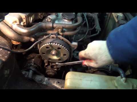 Фото к видео: Замена ремня ГРМ на мазде 626